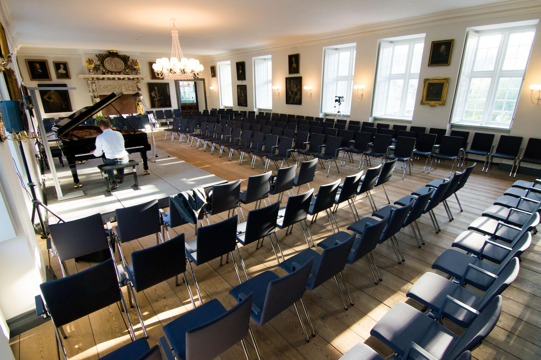 Schloss vor Husum- Rittersaal