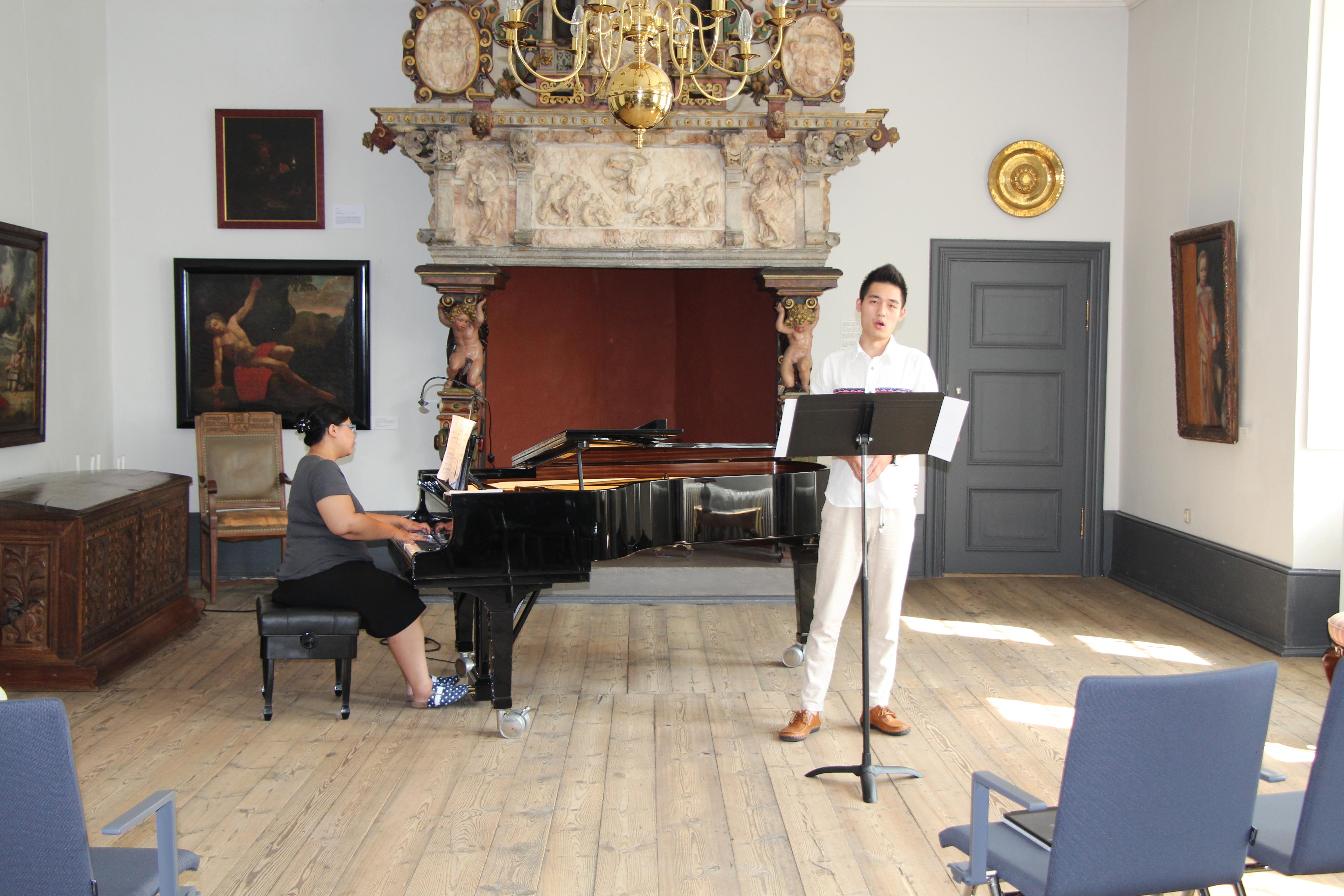 Unterricht im Fortunasaal