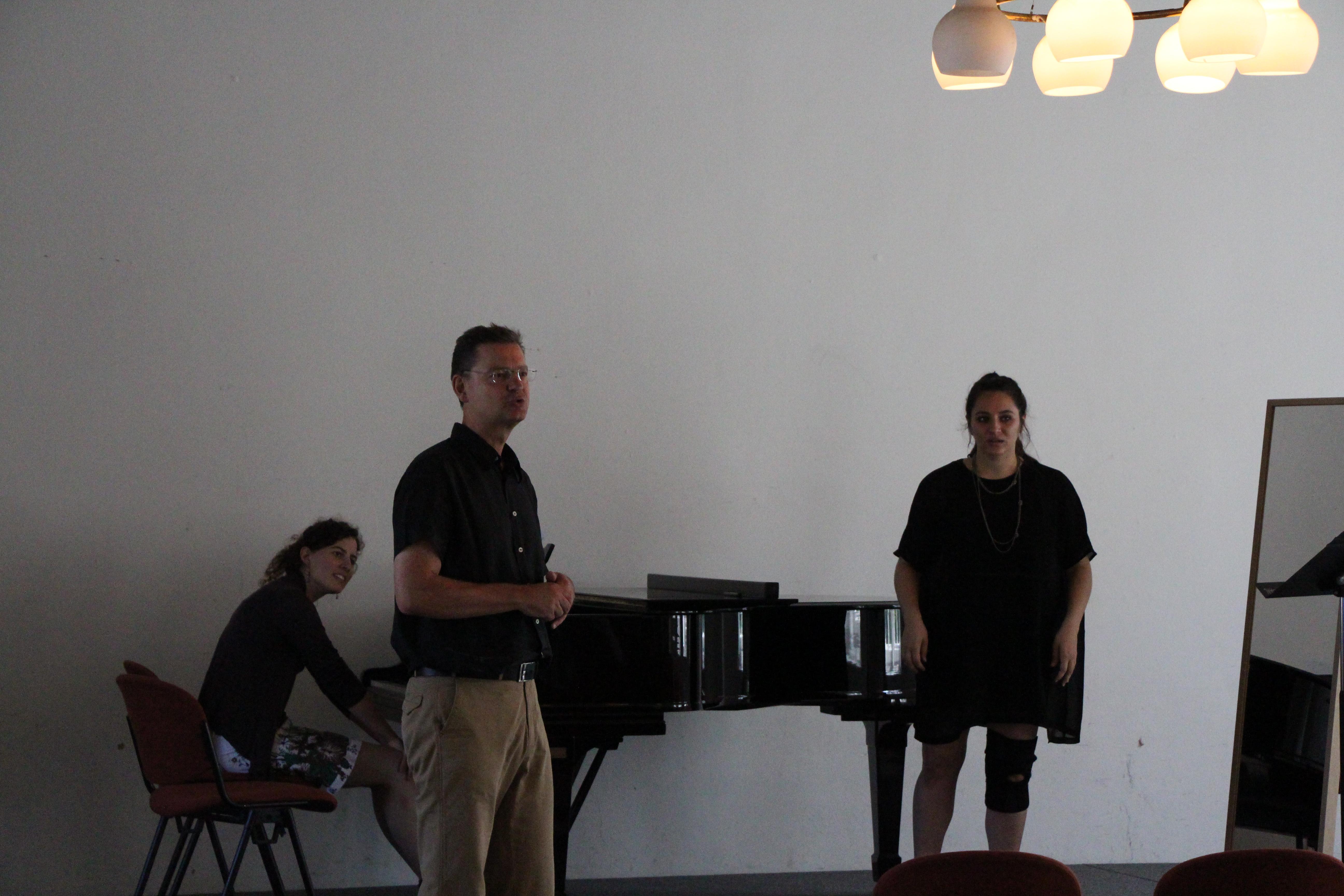 Unterricht im Südflügelsaal