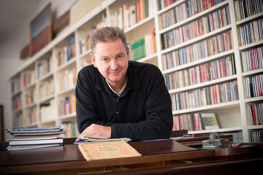 Der Bassbariton Ulf Bästlein